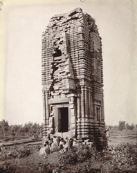 Temple near the village, Telkupi, Manbhum District.